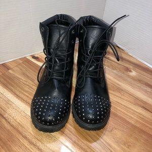 Torrid Combat Boots 11W